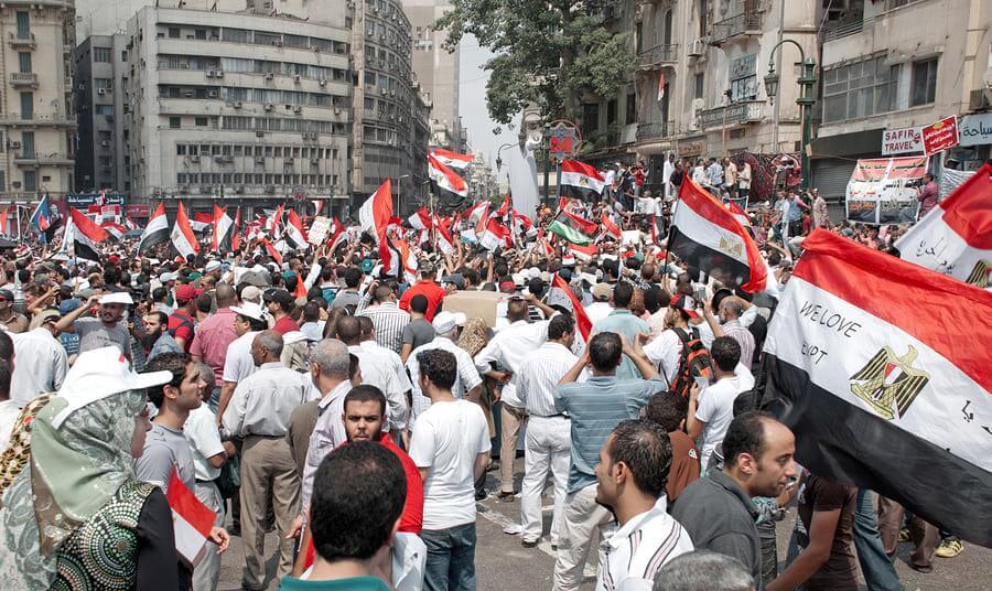 כיכר תחריר, 2011. הפגנות יוני במצרים נגד מוחמד מורסי, Bigstock
