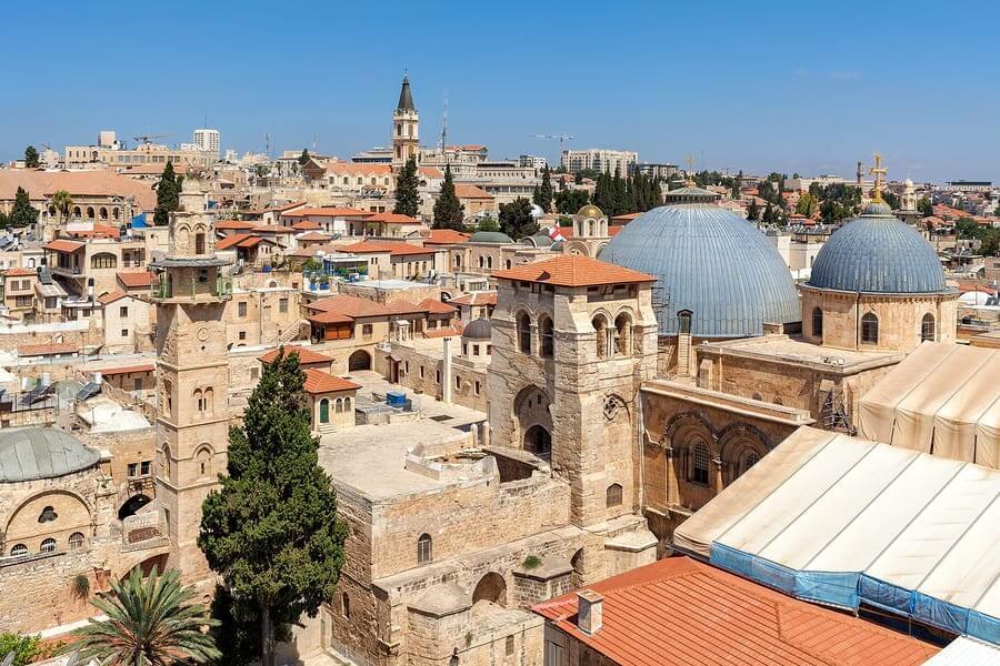 churches in Jerusalem. Photo: Bigstock