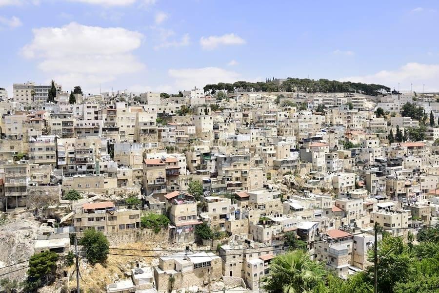 Silwan neighborhood, east Jerusalem. Photo: Bigstock