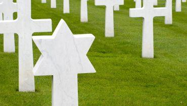 """בית קברות צבאי בארה""""ב"""