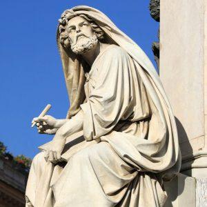 פסל ישעיהו הנביא ברומא. מתוך ויקיפדיה