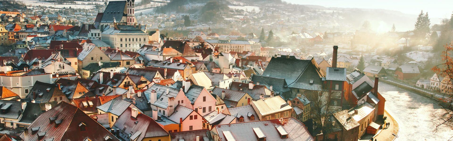 The town of Český Krumlov in the Czech Republic. Photo: Bigstock