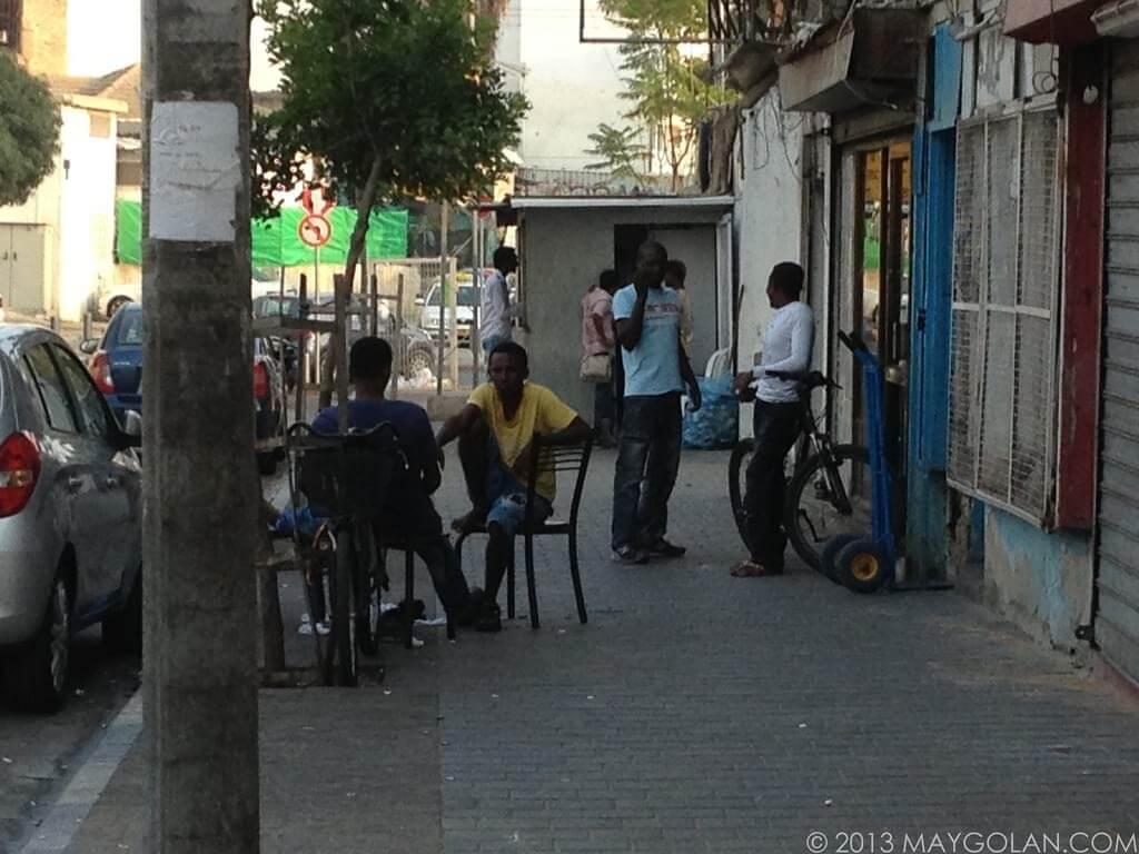 החיים בדרום תל אביב. מתוך הבלוג החיים על פי מאי גולן. תמונה: מאי גולן