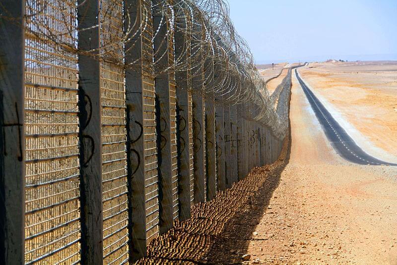 גדר הגבול עם מצרים. קרדיט תמונה: ויקישיתוף
