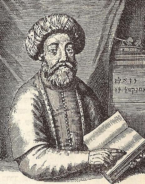 טרגדיה תאולוגית או תאונה היסטורית? שבתי צבי,ציור משנת 1665