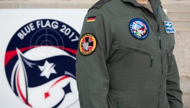 """תמונה ממבצע blue flag 2017, צה""""ל CC2.0"""