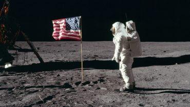 """נחיתת האדם על הירח, באדיבות ויקישיתוף ונאס""""א, CC.0"""
