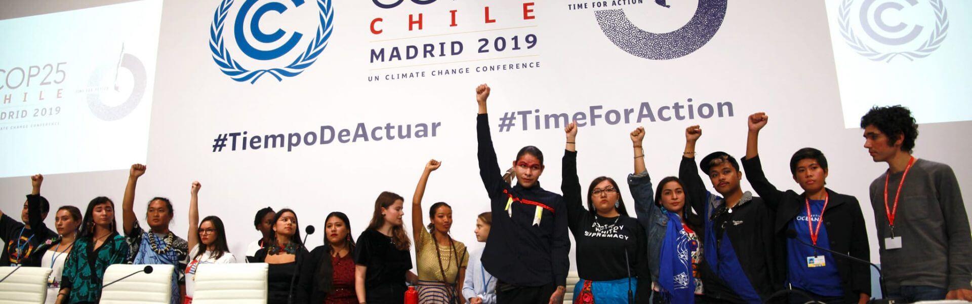 פעילי אקלים צעירים בועידת האקלים במדריד 2019, unfccc flicker