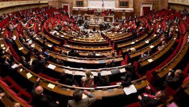 מאמר גולן_ תמונת פנורמה של האסיפה הלאומית בצרפת