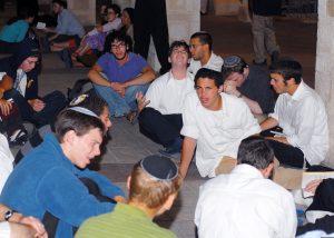 מי קהל היעד? נוער דתי בגליל בליל תשעה באב