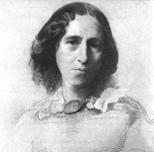 ג'ורג' אליוט, ציור מאת סמואל לורנס, סביבות 1860