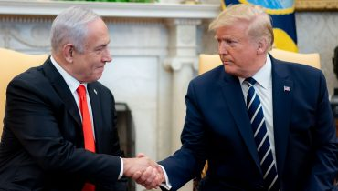 President TruPresident Trump Meets with Israeli Prime Minister Benjamin Netanyahu ,The White House from Washington, DC / Public domainmp Meets with Israeli Prime Minister Benjamin Netanyahu ת The White House from Washington, DC / Public domain