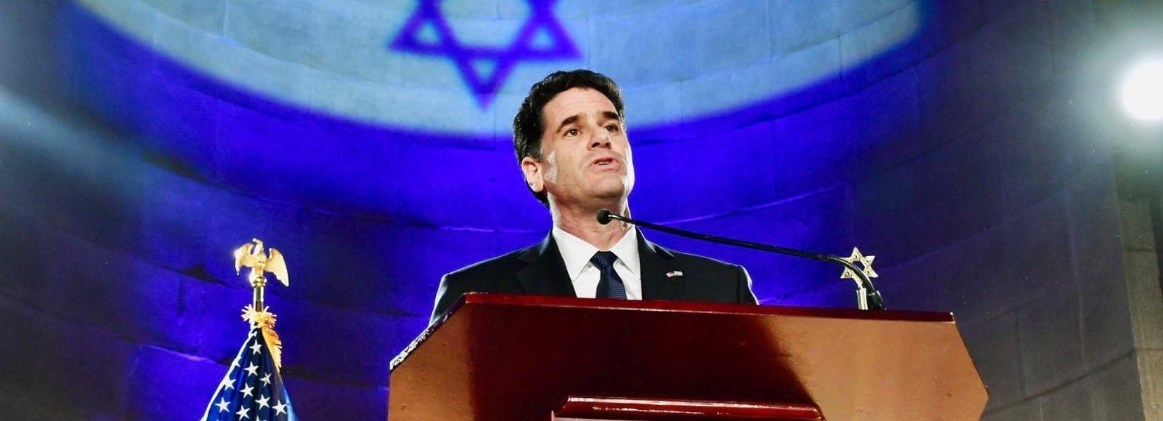 רון דרמר, שגריר ישראל בוושינגטון. התמונה צולמה ע