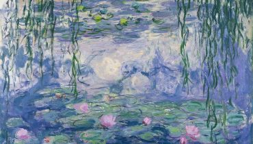 Claude Monet - Nymphéas W1852 - Musée Marmottan-Monet, באדיבות ויקימדיה, public domain