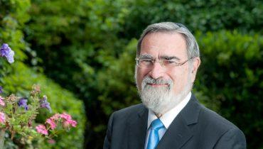 הרב לורד יונתן זקס. צילום: עזרא בלאק.