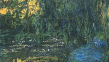 Water-Lily Pond and Weeping Willow, 1916–19, private collection , wikimedia public domain