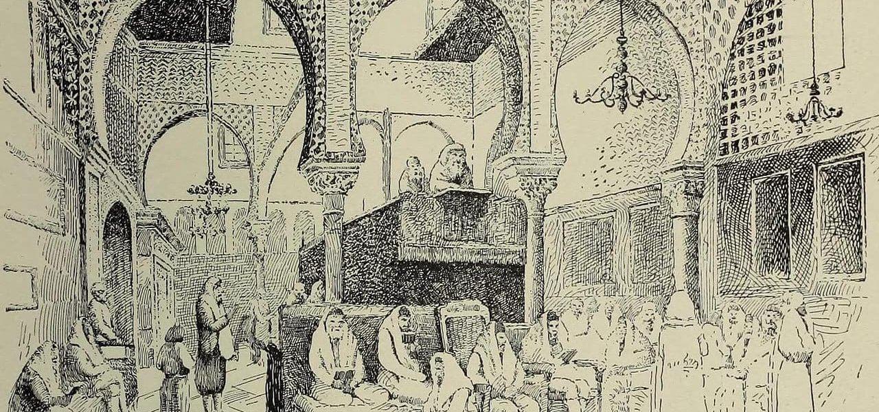 איור של בית כנסת באלג'יר, מתוך