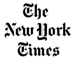 לוגו new york times שיחה עולמית