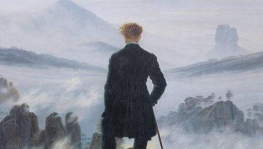 הנווד מעל ים העננים, קספר דויד פרידריך, 1774–1840, באדיבות ויקימדיה, cc 0.0
