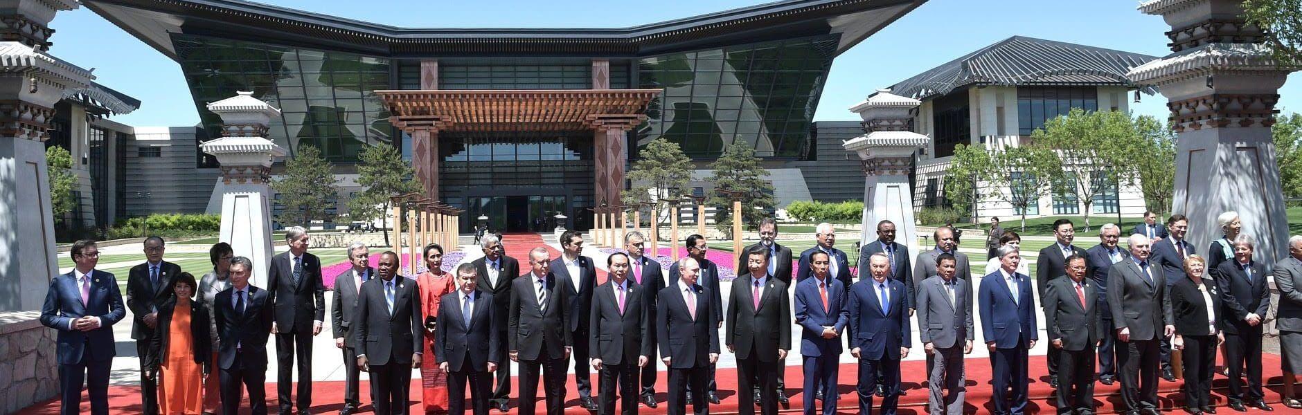 מפגש הפורום הבינלאומי ליוזמת החגורה והדרך, בייג'ינג, 2017 // צילום: לשכת העיתונות של נשיא רוסיה