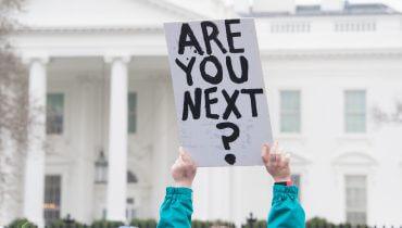 הפגנה מול הבית הלבן, תמונה: shutterstock