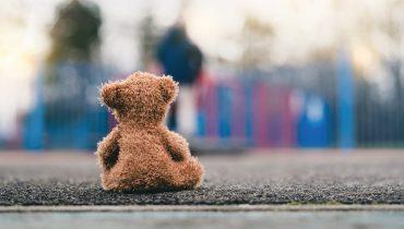 בובת דובי נטושה. באדיבות Bigstock
