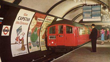 איור של הטיוב (הרכבת התחתית) הלונדונית, מתוך flickr, באדיבות Agnes Happen, לשימוש חופשי